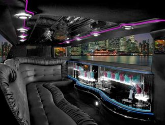 Chrysler 300 limo interior Orlando