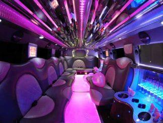 Cadillac Escalade limo interior Orlando